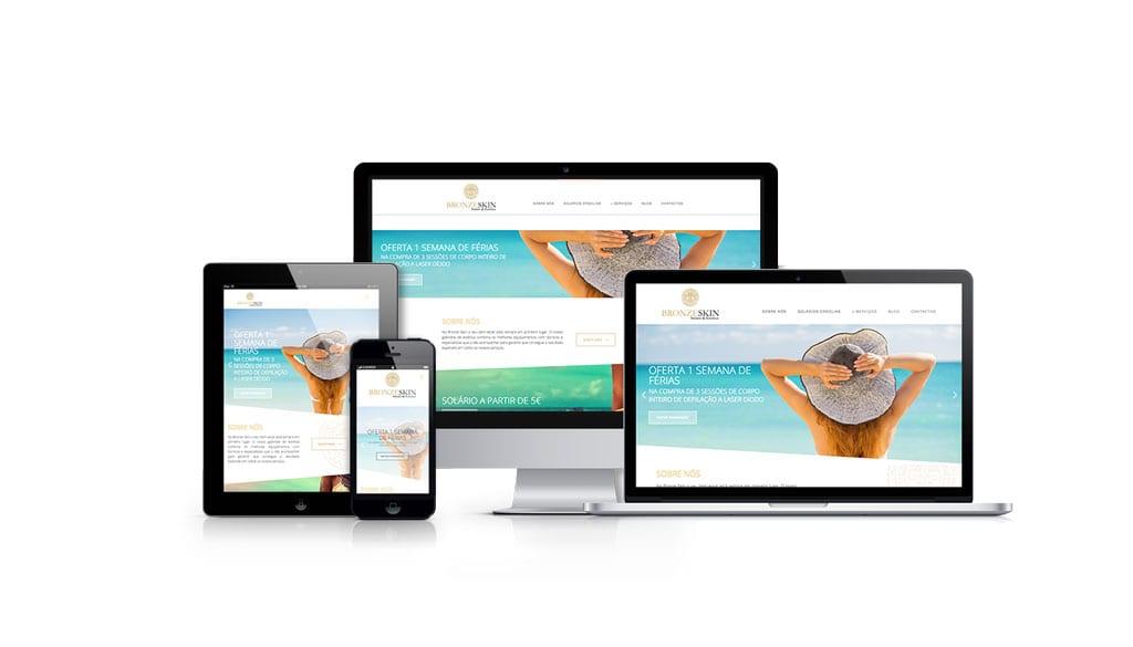 euDigital - Agência de marketing digital - Bronze Skin