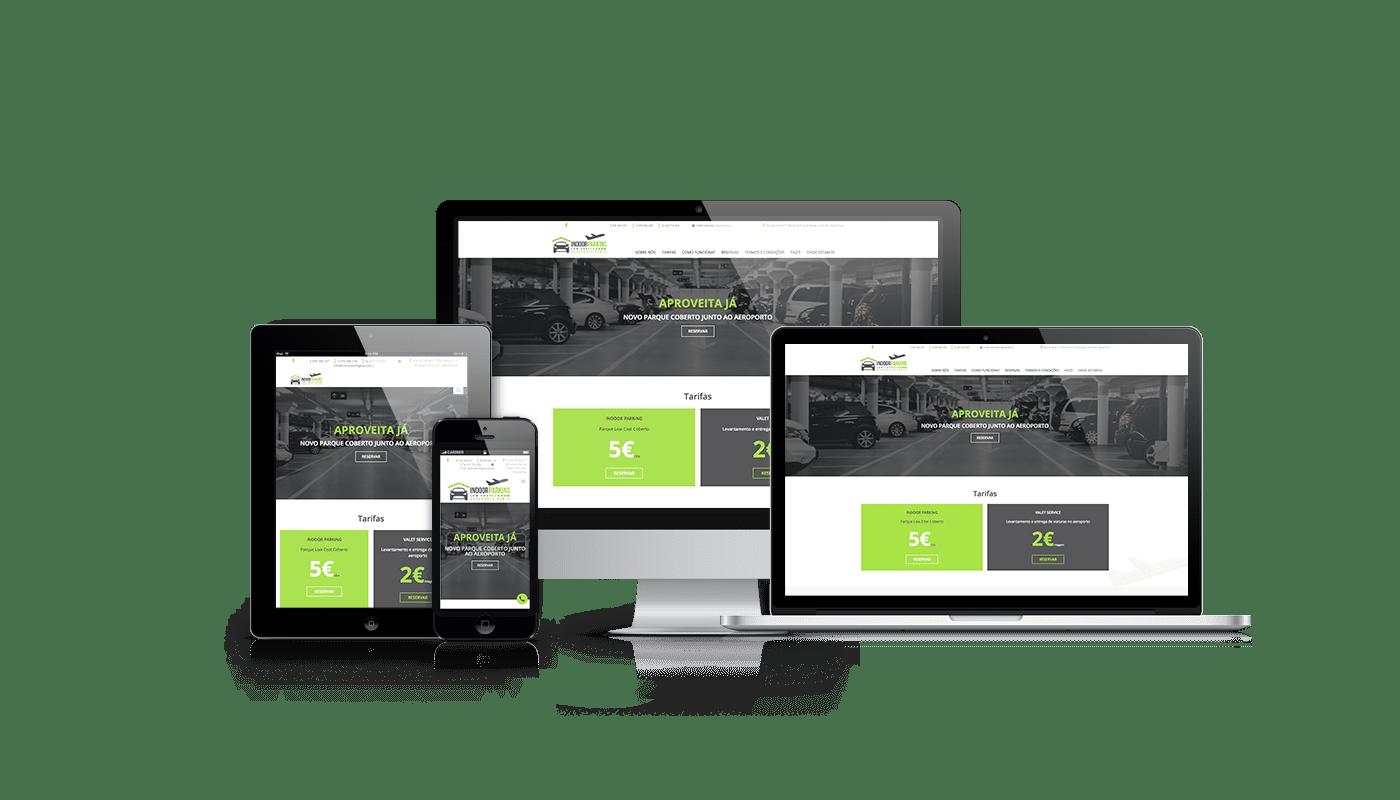 Indoor Parking Low Cost - euDigital - Agência de Marketing Digital - Criação de Websites, Web design e Branding