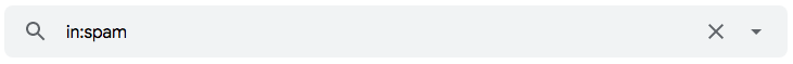 """Como encontrar mensagens em pastas do Gmail usando o operador de pesquisa """"in:"""""""