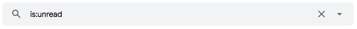 """Como encontrar mensagens não lidas no Gmail usando operadores de pesquisa de e-mail como """"is:"""""""