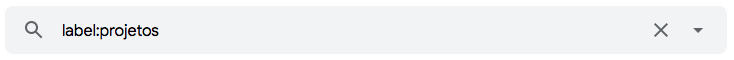 """Como encontrar e-mails através nos seus marcadores no Gmail usando operadores de pesquisa como """"label:"""""""