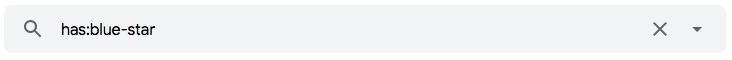 """Como pesquisar mensagens com estrela no Gmail usando operadores de pesquisa de e-mail tais como o operador """"has:"""""""