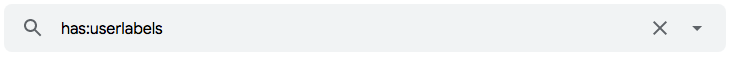 """Como encontrar e-mails com marcadores personalizados no Gmail utilizando o operador de pesquisa """"has"""""""