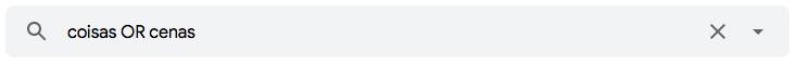 """Como encontrar mensagens no Gmail que contenham um ou outro termo utilizando o operador de pesquisa de e-mail """"OR"""""""
